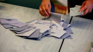 Des bulletions votes aux élections législatives de 2017 (illustration). (LIONEL VADAM  / MAXPPP)