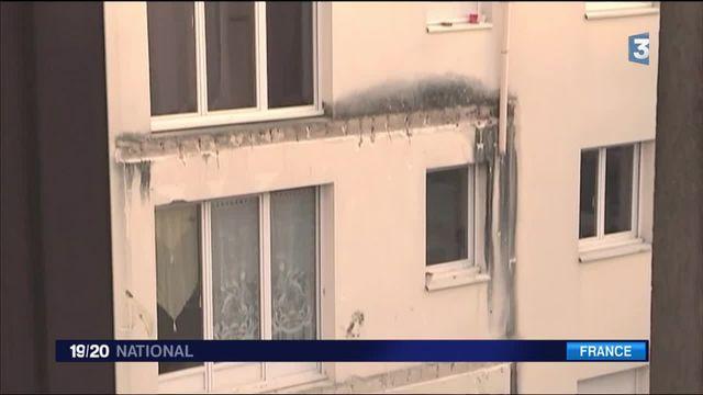 Effondrement d'un balcon à Angers : les hypothétiques causes du drame
