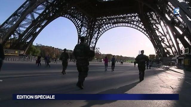 Attentats de Paris : la capitale est déserte