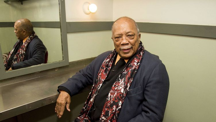 Quincy Jones à Los Angeles le 3 novembre 2017  (Amy Harris / AP / Sipa)