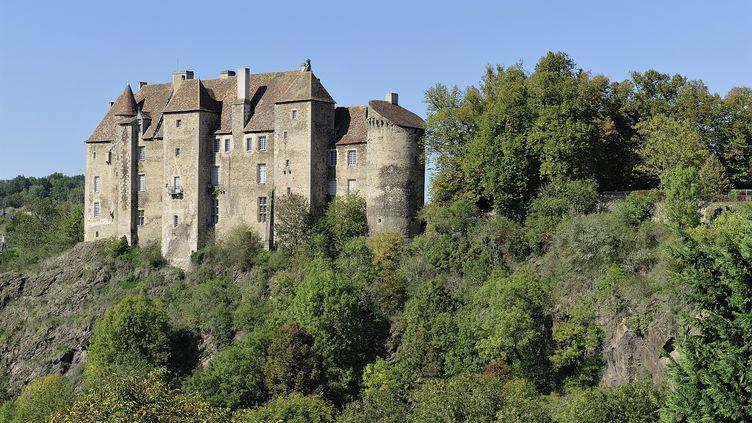 Le château de Boussac dans la Creuse (YVES TALENSAC / PHOTONONSTOP)