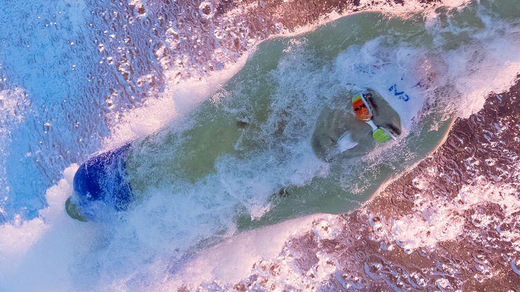 Michael Phelps, toujours aussi aquatique