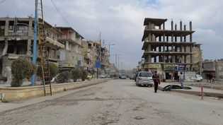 Raqqa (Syrie), le 28 février 2021. (OMAR OUAHMANE / RADIO FRANCE)