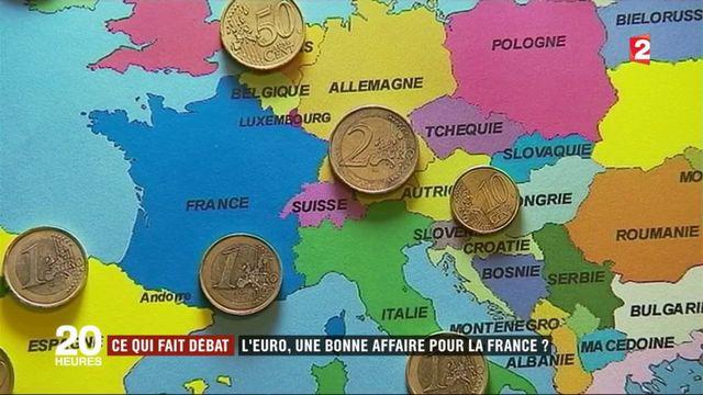 Ce qui fait débat : l'euro, un atout pour la France ?