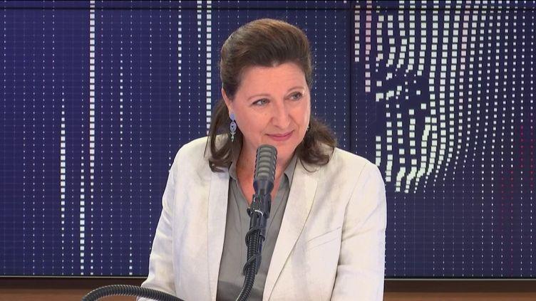 Agnès Buzyn, candidate La République en marche à la mairie de Paris, était l'invitée de franceinfo mardi 23 juin 2020. (FRANCEINFO / RADIO FRANCE)
