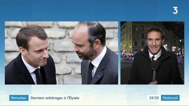 Grève contre la réforme des retraites : derniers arbitrages à l'Élysée