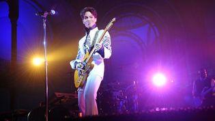 Prince au Grand Palais à Paris le 11 octobre 2011  (Bertrand Guay / AFP)