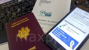 Des pharmaciens en région Provence-Alpes-Côte-d'Azur assurent avoir reçu des demandes de fraudes au pass sanitaire, entré en vigueur ce mercredi en France.   (IP3 PRESS/MAXPPP)