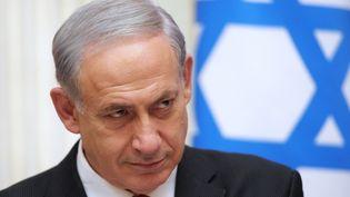 Le Premier ministre Benjamin Netanyahu, le 20 novembre 2013 à Moscou (Israël). (ALEKSEY NIKOLSKYI / RIA NOVOSTI / AFP)