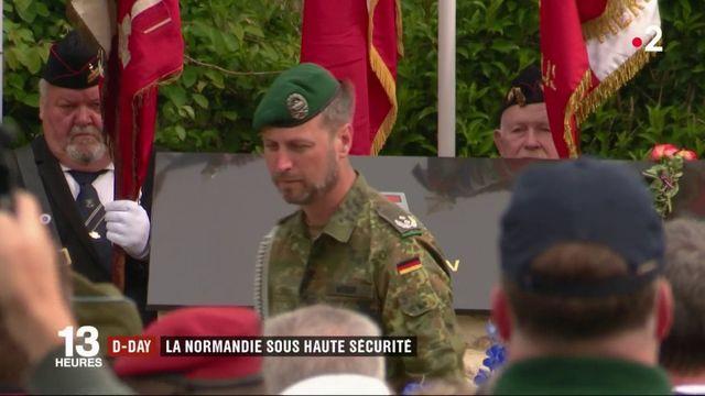 Normandie : dispositif de sécurité exceptionnel pour commémorer le D-Day