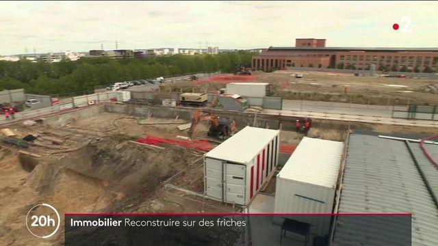 pour les Jeux olympiques, des bâtiments vont être reconstruits sur des friches industrielles