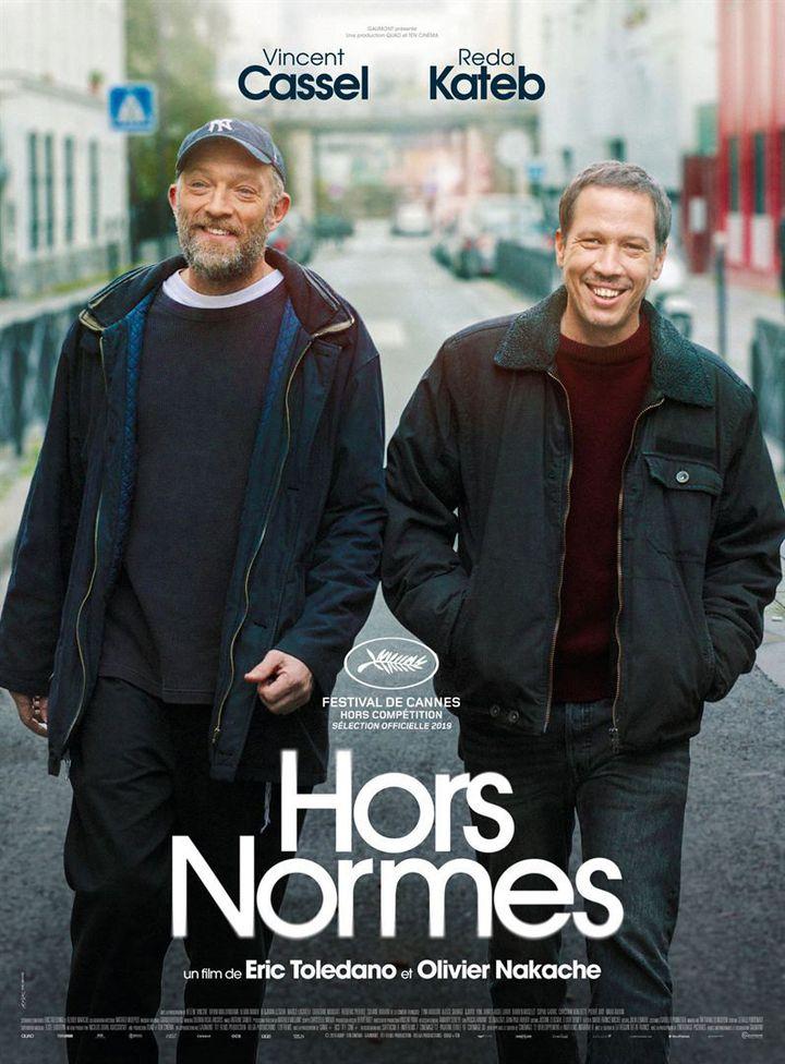 """L'affiche de """"Hors normes"""" deEric Toledano et Olivier Nakache. (Gaumond Distribution)"""