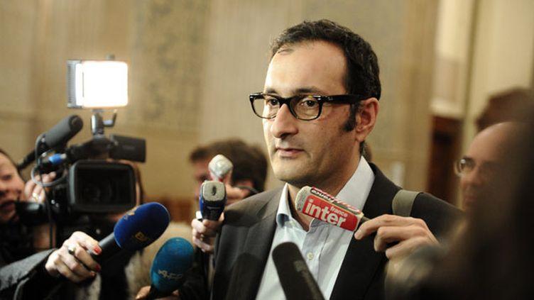 """(Maître Emmanuel Daoud : """"La loi, votée le 20 novembre dernier, encadre le régime des perquisitions"""" © MaxPPP)"""