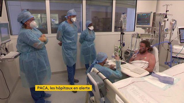 """Covid-19 : à Marseille, les services de réanimation de la Timone se préparent à une """"augmentation exponentielle"""" du nombre de patients"""