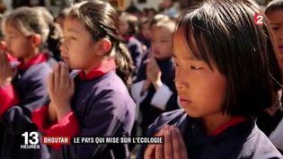 Le Bhoutan a fait du tout-électrique automobile un de ses objectifs. Le royaume est devenu un modèle en matière de respect de l'environnement. (FRANCE 3)