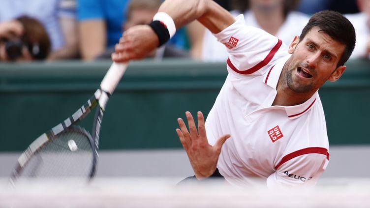 Novak Djokovic (MEHDI TAAMALLAH / MEHDI TAAMALLAH)