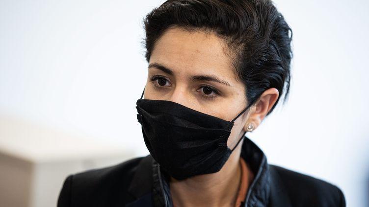 La secrétaire d'État française à la Jeunesse Sarah El Hairy, le 21 avril 2021. (ALEXIS SCIARD / MAXPPP)