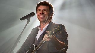 Patrick Bruel sur la scène du Zénith de Paris le 30 mai 2013  (LIONEL URMAN/SIPA)