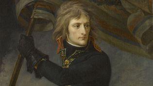 """Antoine-Jean Gros, """"Bonaparte au pont d'Arcole"""", 1796 (Paris, musée du Louvre) (FRANCK RAUX / RMN-GP / AGENCE PHOTO DE LA RMN-GP)"""