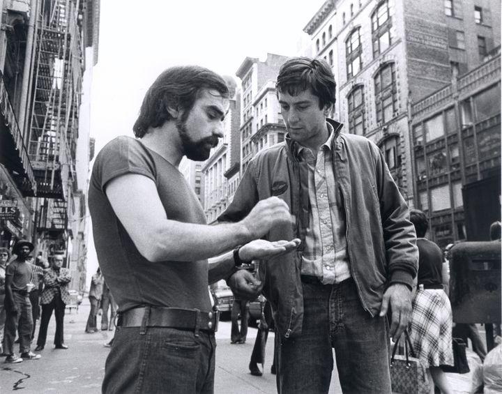 Martin Scorsese et Robert De Niro, Taxi Driver, 1976  (Martin Scorsese Collection, New York)