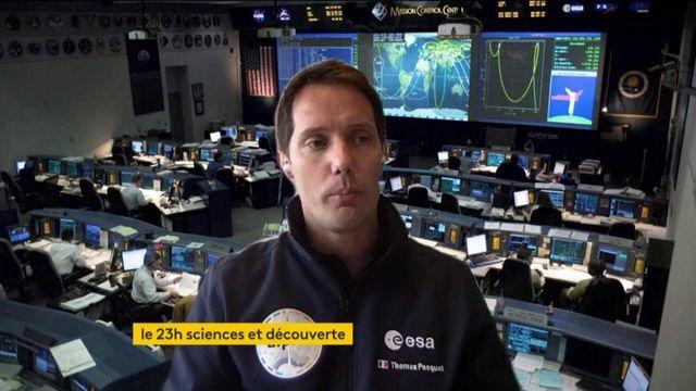 Espace: Thomas Pesquet va devenir le premier Français commandant de bord d'un vaisseau spatial
