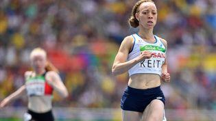 Nantenin Keita vise le doublé sur le 400m, à Tokyo. (LUC PERCIVAL / CPSF)