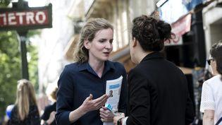 NathalieKosciusko-Morizet en campagne dans la 2e circonscription de Paris (MAXPPP)