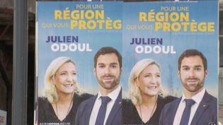 À trois semaines du premier tour des élections régionales, le 12/13 de France 3 se rend en Bourgogne-Franche-Comté. Le Rassemblement national se verrait bien emporter cette région, jusqu'à présent à gauche. (FRANCE 3)