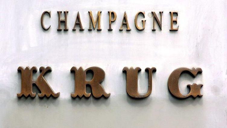 (Le Champagne Krug est une maison de champagne basée à Reims © Paul Cooper//REX/SIPA)