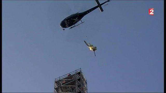 Mont-Saint-Michel : l'archange s'est envolé pour être restauré