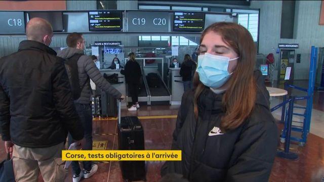 Coronavirus : en Corse, les nouveaux arrivants doivent obligatoirement présenter un test négatif