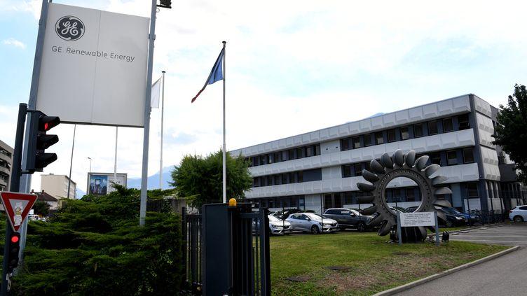Site General Electric à Grenoble (Isère). (JEAN-PIERRE CLATOT / AFP)
