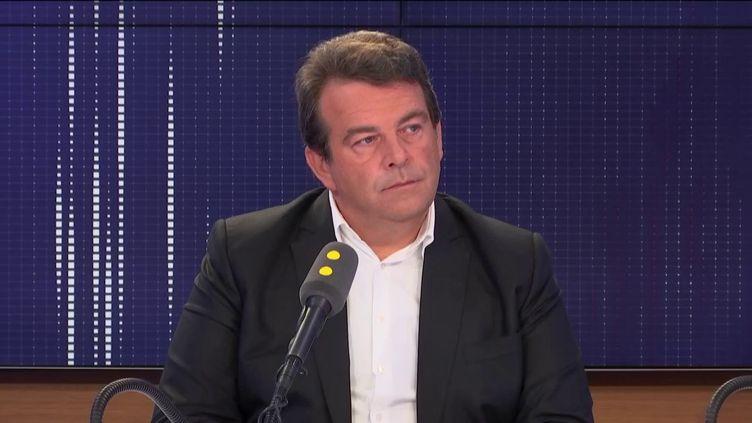 Thierry Solère, député LREM des Hauts de Seine sur franceinfo le 15 septembre 2019. (FRANCEINFO / RADIOFRANCE)