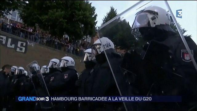 Allemagne : heurts entre la police et des manifestants anti-G20 à Hambourg