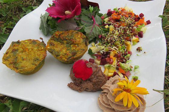 Les plantes comestibles sauvages et les fleurs se cuisinent. (LES GOURMANDISES BIOS)