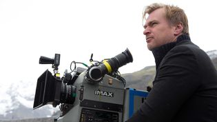 "Christopher Nolan, ici lors du tournage ""d'Interstellar"" en 2013  (LILO/SIPA)"