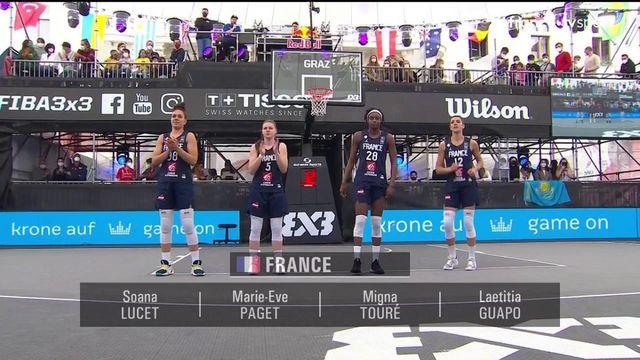 TQO Basket 3x3 (F) : les meilleurs moments d'Indonésie vs France