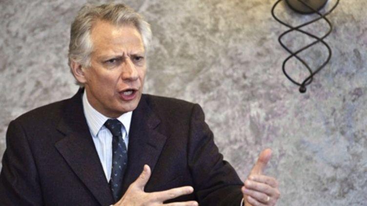 Dominique de Villepin, président de République solidaire. (AFP - Jean-Philippe Ksiazek)