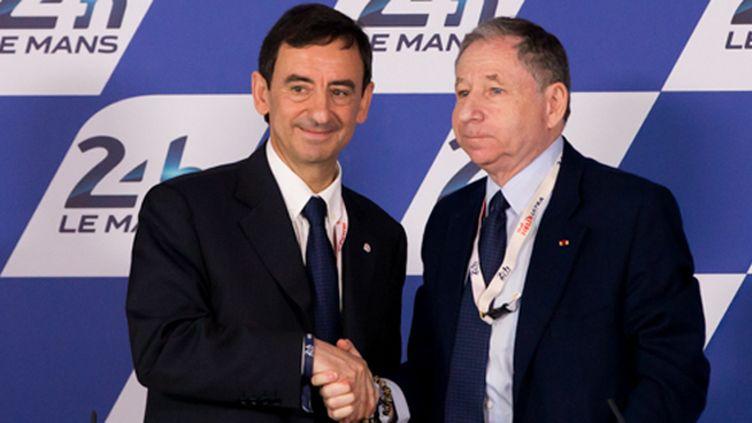 Pierre Fillon (ACO) et Jean Todt (FIA) oeuvrent ensemble pour le futur de l'endurance