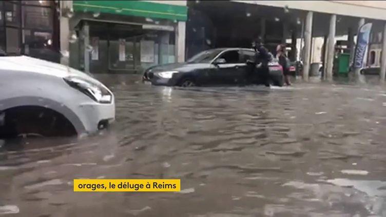 Un déluge à Reims (FRANCEINFO)
