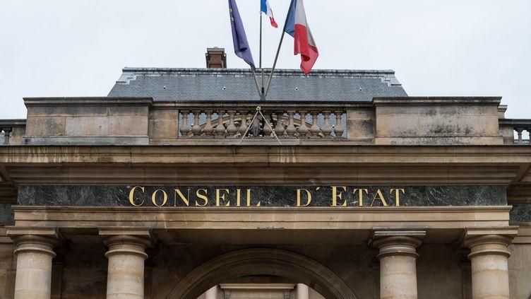 Le Conseil d'Etat à Paris, le 5 juillet 2020. (RICCARDO MILANI / HANS LUCAS / AFP)