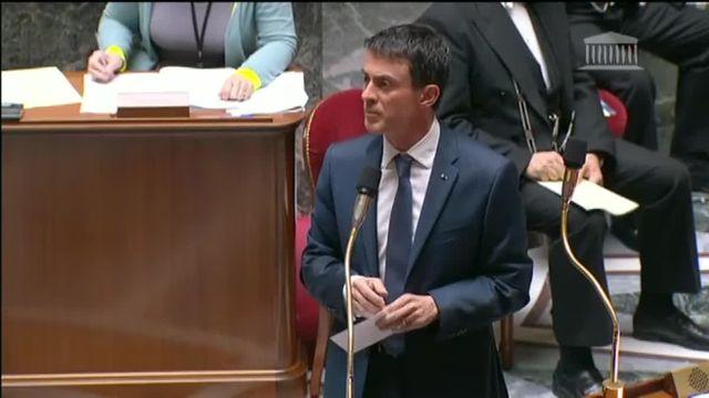 Valls, devant les députés, confirme la mort d'Abdelhamid Abaaoud,