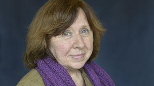 L'écrivaine Svetlana Alexievitch en 2014. (ULF ANDERSEN / ULF ANDERSEN)