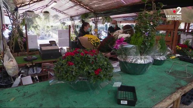 Reconfinement : avec la Toussaint, les fleuristes profitent de leurs derniers jours d'ouverture