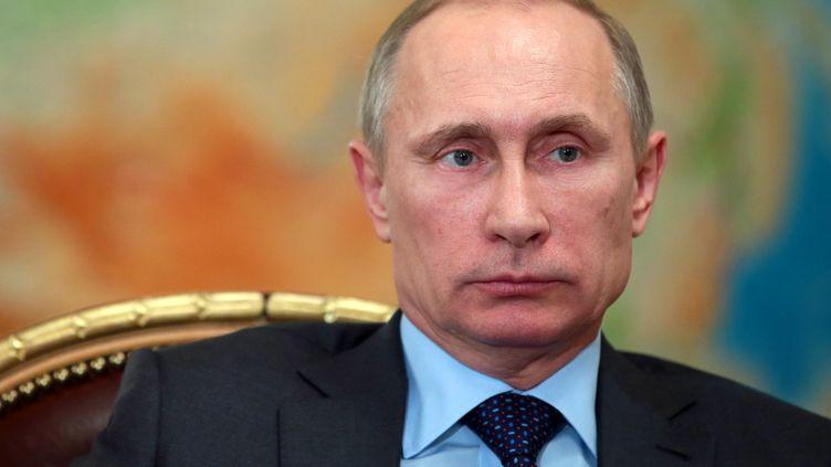 Le président russe Vladimir Poutine, à Moscou, le 26 février 2014. (MIKHAIL METZEL / RIA-NOVOSTI)