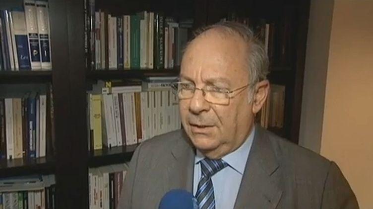 Richard Prasquier, le président du Crif, le 5 juillet 2012. ( FRANCE 3)