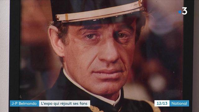 une exposition consacrée à Jean-Paul Belmondo réjouit ses fans