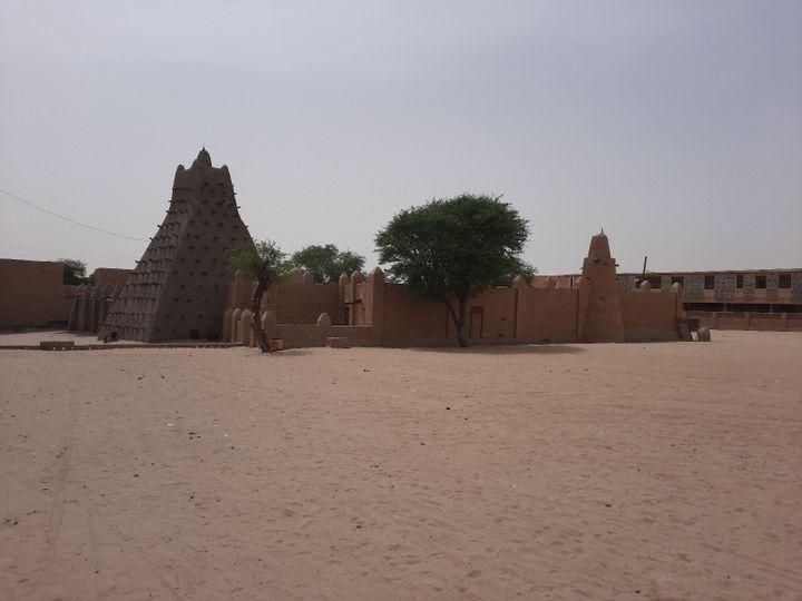 La mosquée Sankoré à Tombouctou. (OMAR OUAHMANE / RADIO FRANCE)