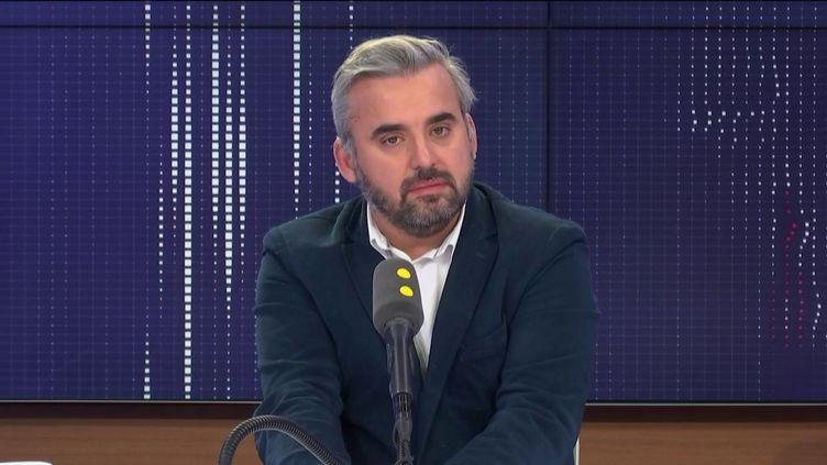 Alexis Corbière, député La France insoumise de Seine-Saint-Denis, était l'invité de franceinfo samedi 8 février. (FRANCEINFO / RADIO FRANCE)