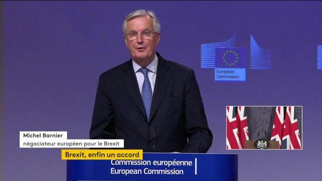 Accord post-Brexit : la déclaration de Michel Barnier